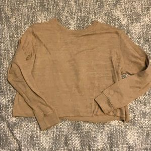 Agnes & Dora The Pullover Crop layering sweater